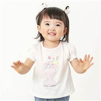 coeur a coeur (クーラクール ) Tシャツ(半袖) (70〜100cm)[アウター]